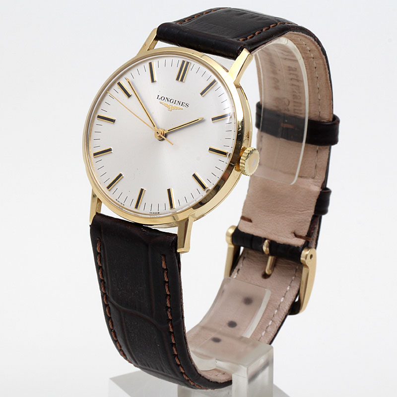 Yellow Gold Mens Watch By 1974 Caliber 6942 Reference 4030 4 EBay